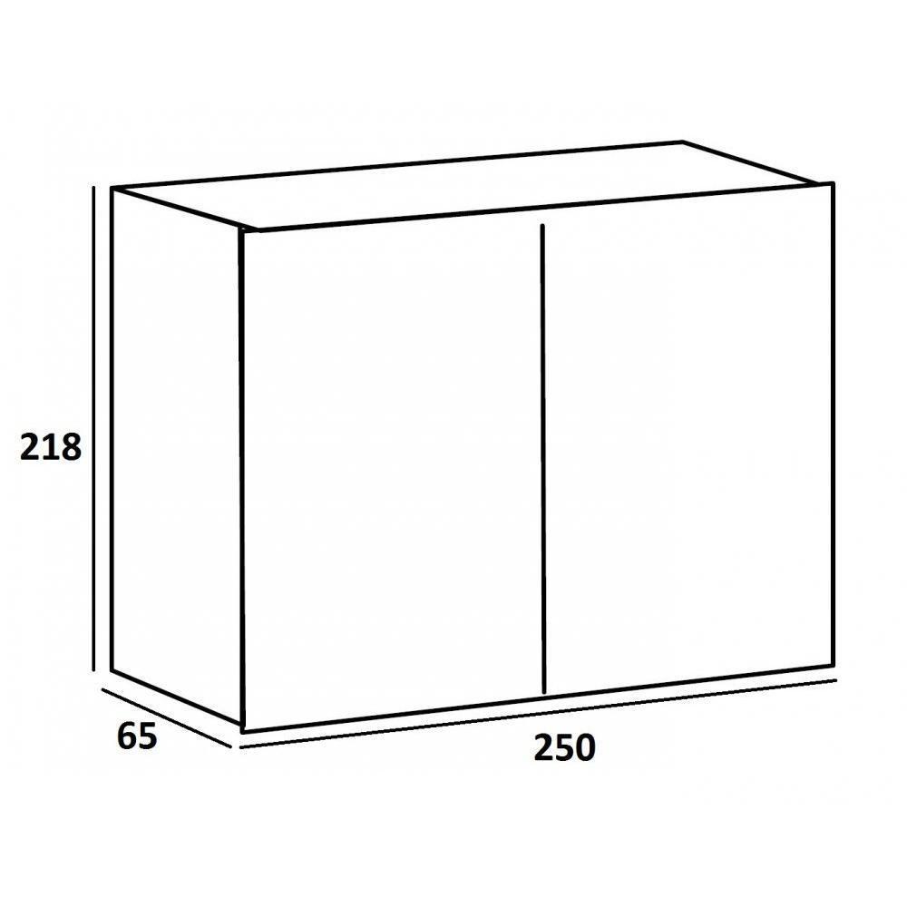 dressings et armoires chambre literie dressing portes coulissantes rozey 250 blanc et. Black Bedroom Furniture Sets. Home Design Ideas