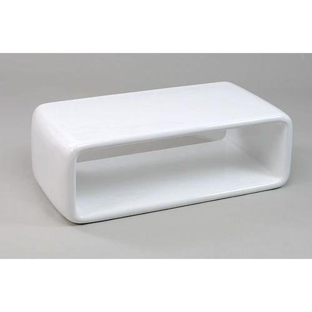 Table basse carr e ronde ou rectangulaire au meilleur - Table basse laque blanc brillant ...