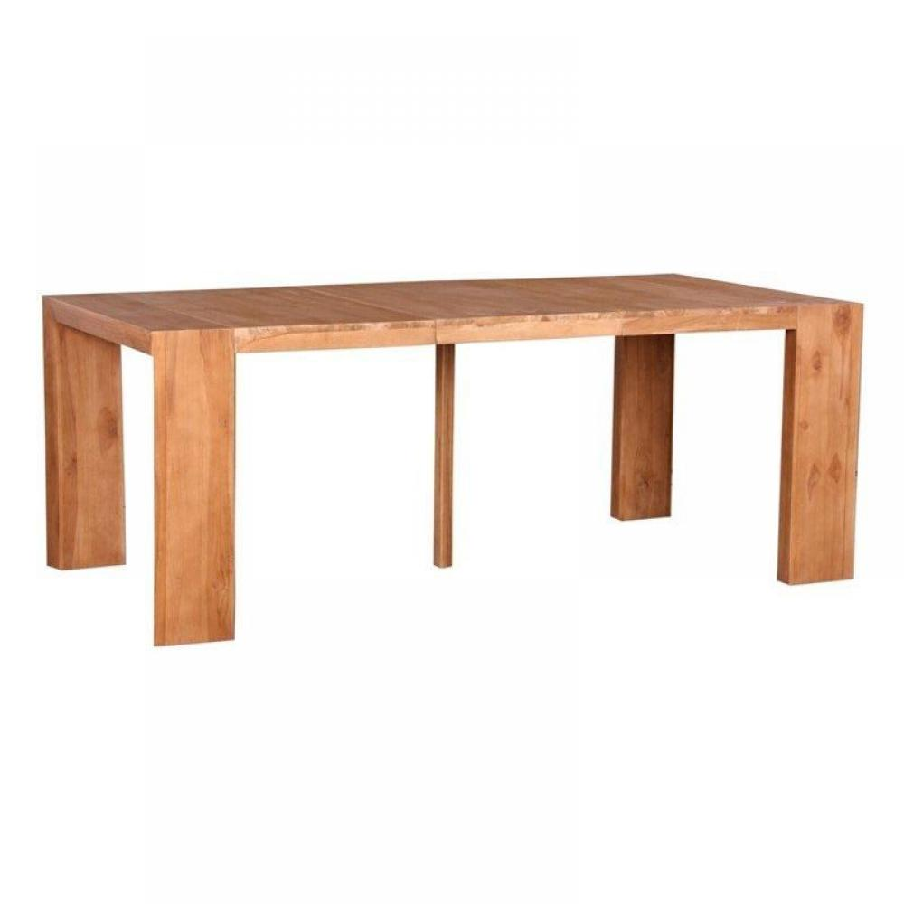 Consoles extensibles meubles et rangements console table for Table bois massif extensible