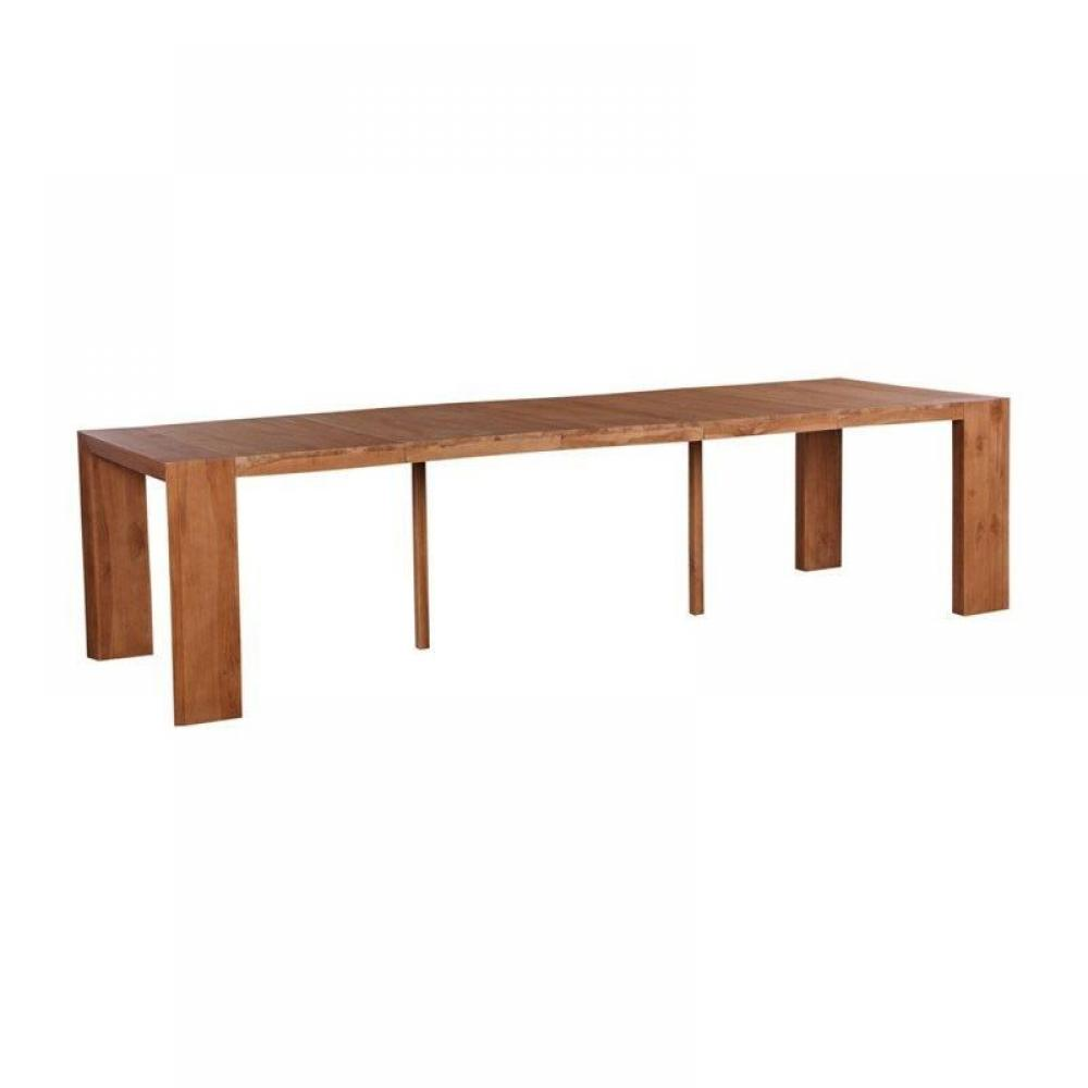 Console extensible le gain de place tendance au meilleur for Table a manger console extensible