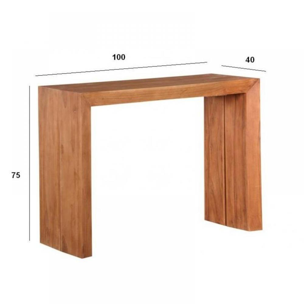 Consoles extensibles meubles et rangements console table for Console extensible 14 personnes