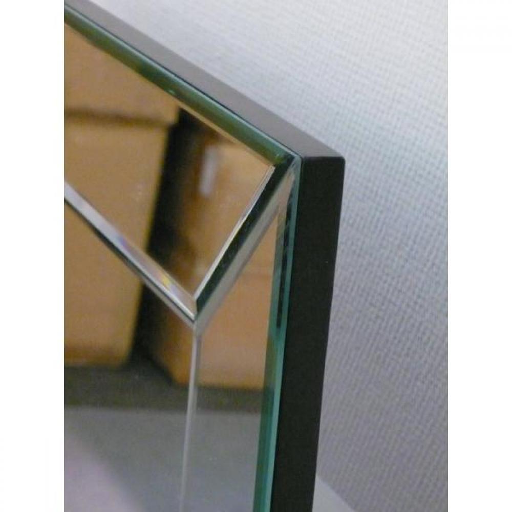 Miroirs meubles et rangements avatar miroir droit mural rectangulaire en verre biseaut grand - Grand miroir mural rectangulaire ...