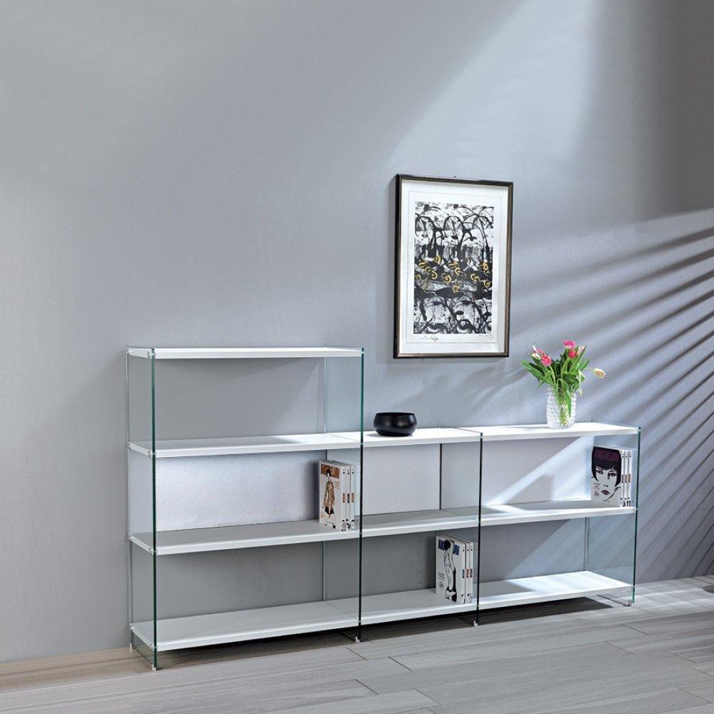 Meubles Tv Meubles Et Rangements Composition Murale Tv Babylone  # Meuble Tv Blanc Ceruse