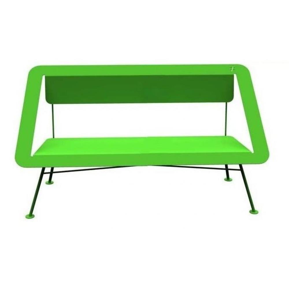 Meubles de jardin meubles et rangements banc jardin 2 places vert 4x4 diffe - Banc de jardin 2 places ...