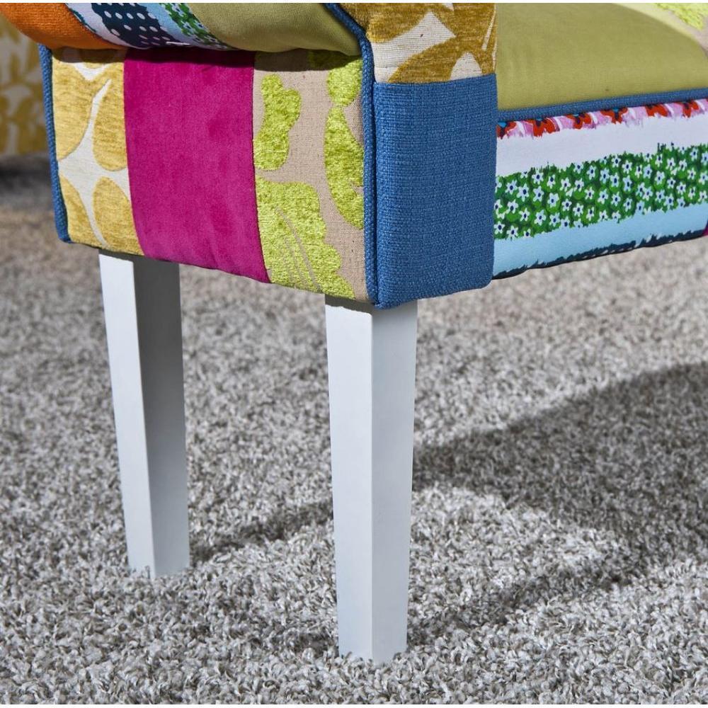 bancs tables et chaises banc sao bento patchwork inside75. Black Bedroom Furniture Sets. Home Design Ideas