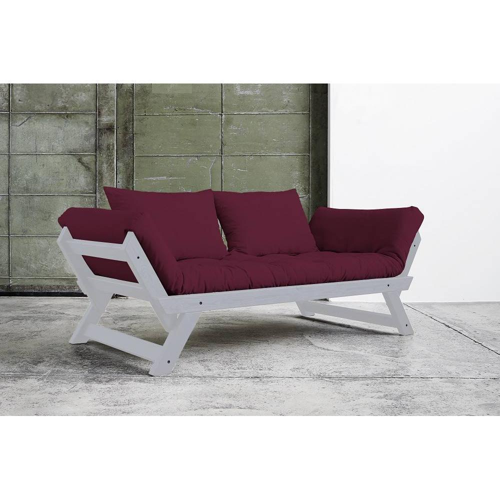 canap banquette futon convertible au meilleur prix banquette m ridienne bebop gris matelas. Black Bedroom Furniture Sets. Home Design Ideas