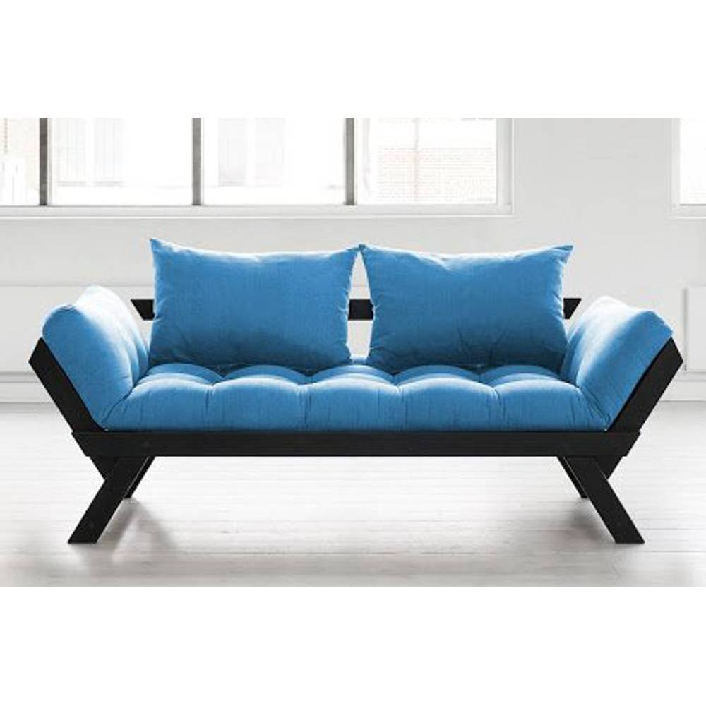Divani letto sistema rapido armadi letto e comodini - Divano letto azzurro ...