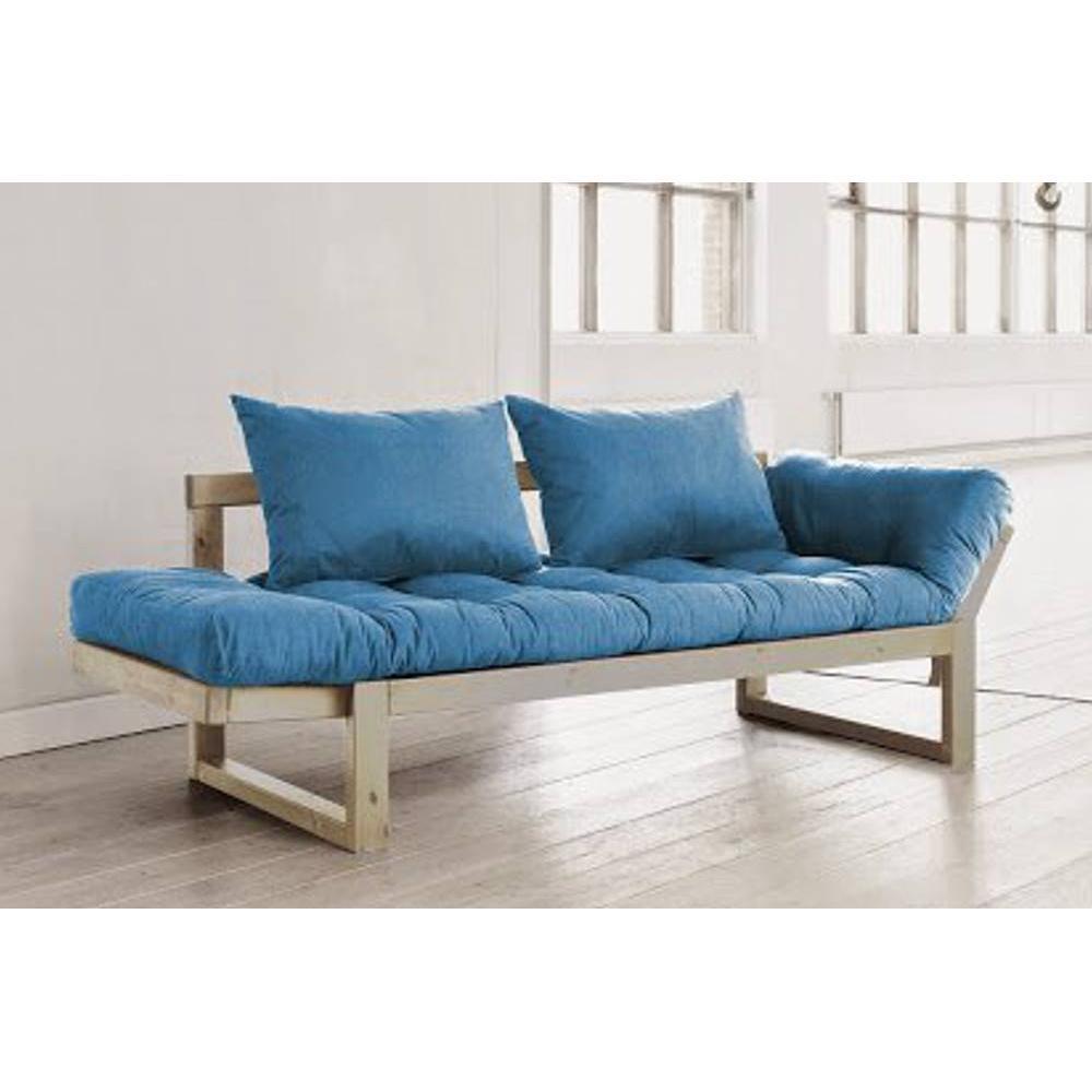 canap s futon canap s ouverture express banquette m ridienne style scandinave futon bleu edge. Black Bedroom Furniture Sets. Home Design Ideas