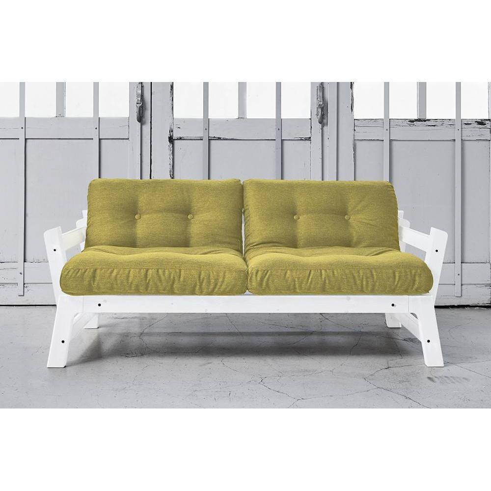 canap banquette futon convertible au meilleur prix banquette convertible blanche step. Black Bedroom Furniture Sets. Home Design Ideas
