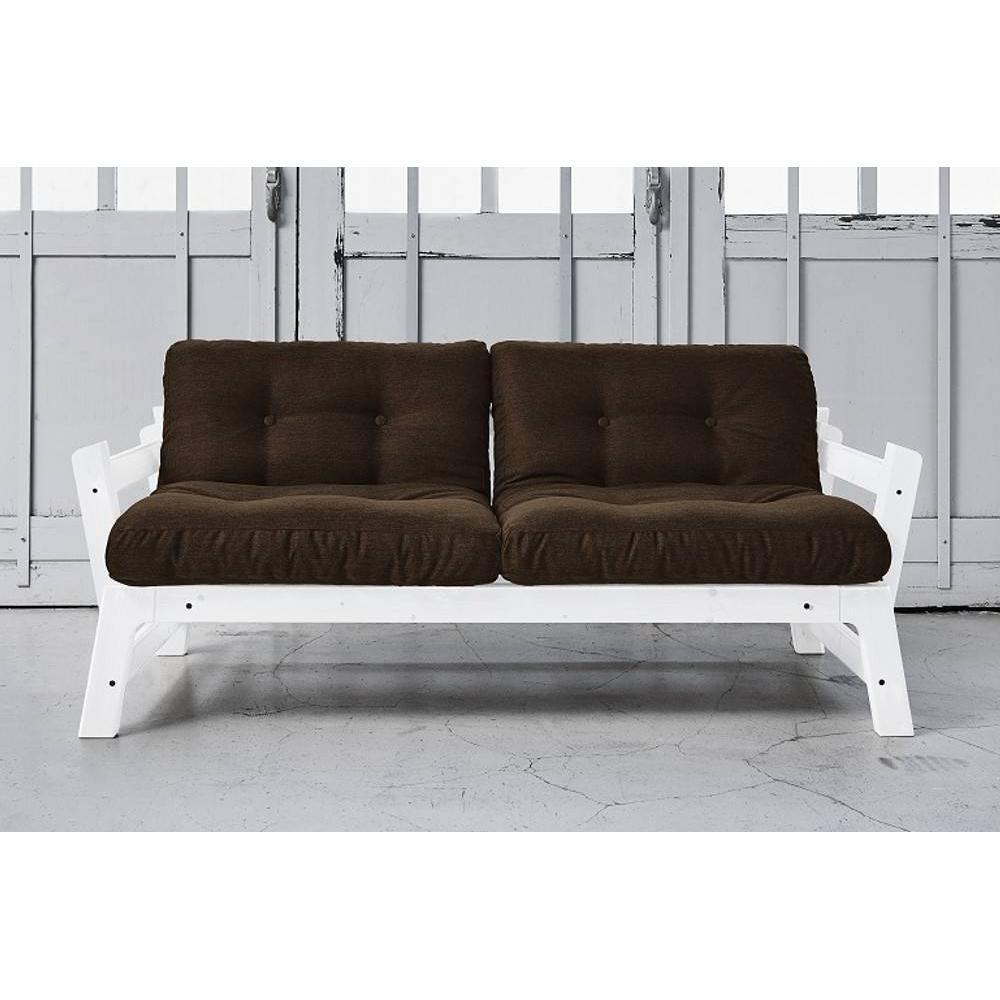 Canap banquette futon convertible au meilleur prix banquette convertible blanche step - Banquette futon convertible ...