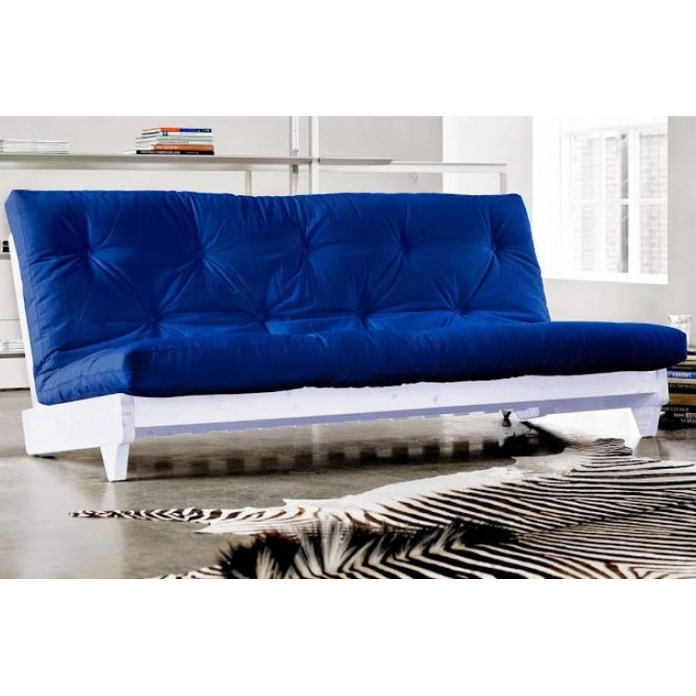 canap banquette futon convertible au meilleur prix banquette lit blanc futon bleu royal. Black Bedroom Furniture Sets. Home Design Ideas