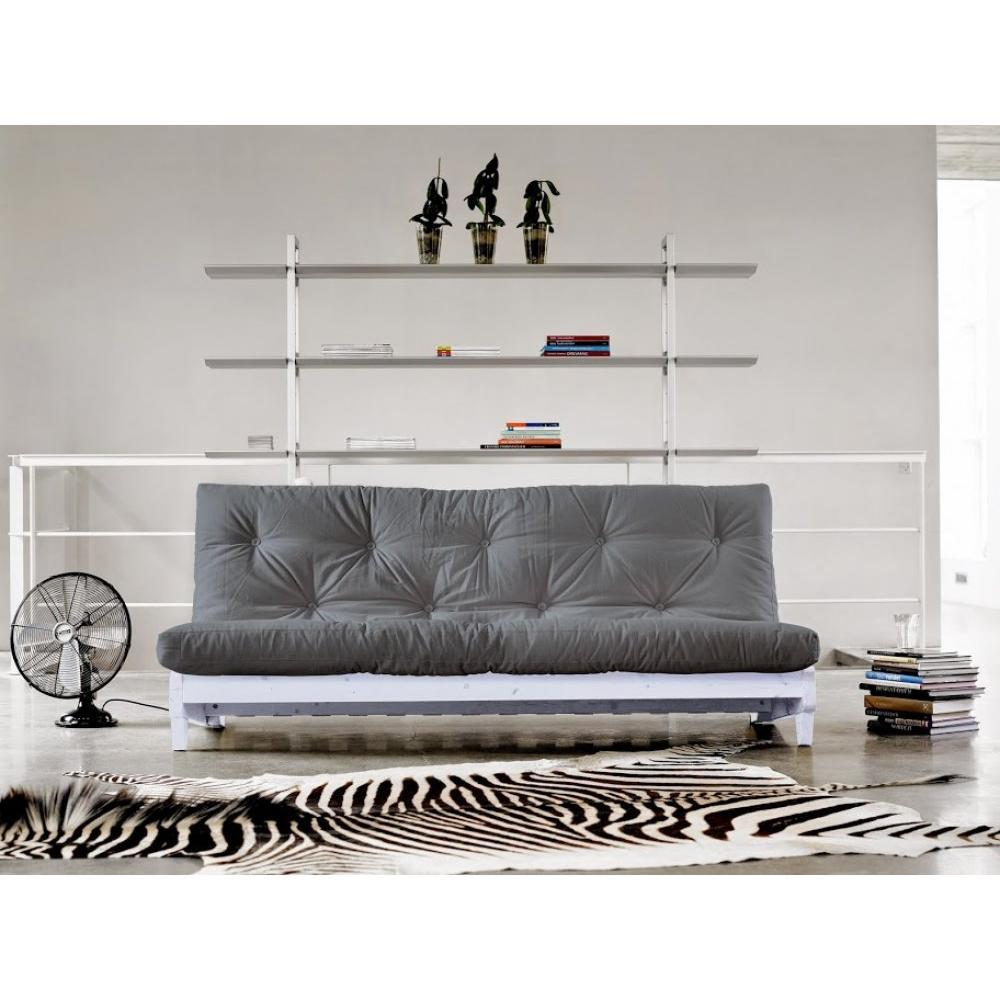 canap banquette futon convertible au meilleur prix banquette lit blanc futon gris fresh 3. Black Bedroom Furniture Sets. Home Design Ideas