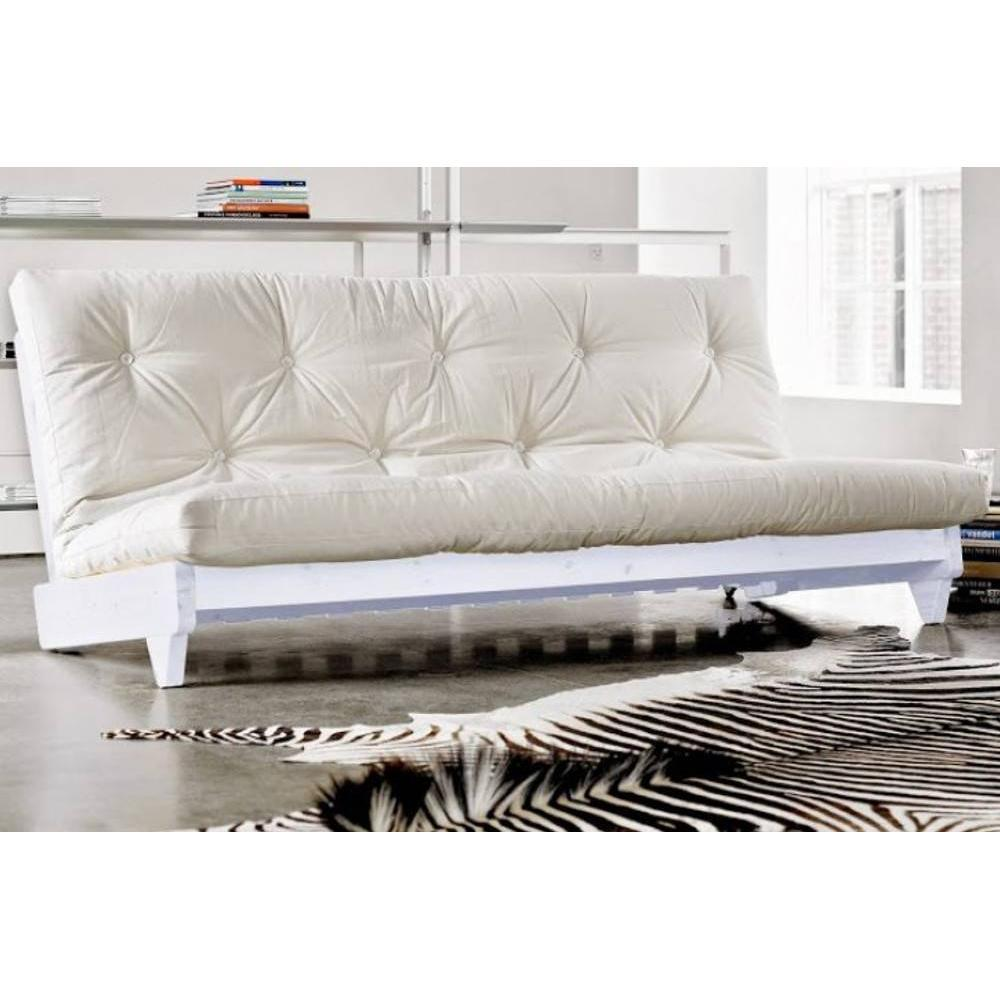 canap banquette futon convertible au meilleur prix banquette lit blanc futon cru fresh 3. Black Bedroom Furniture Sets. Home Design Ideas