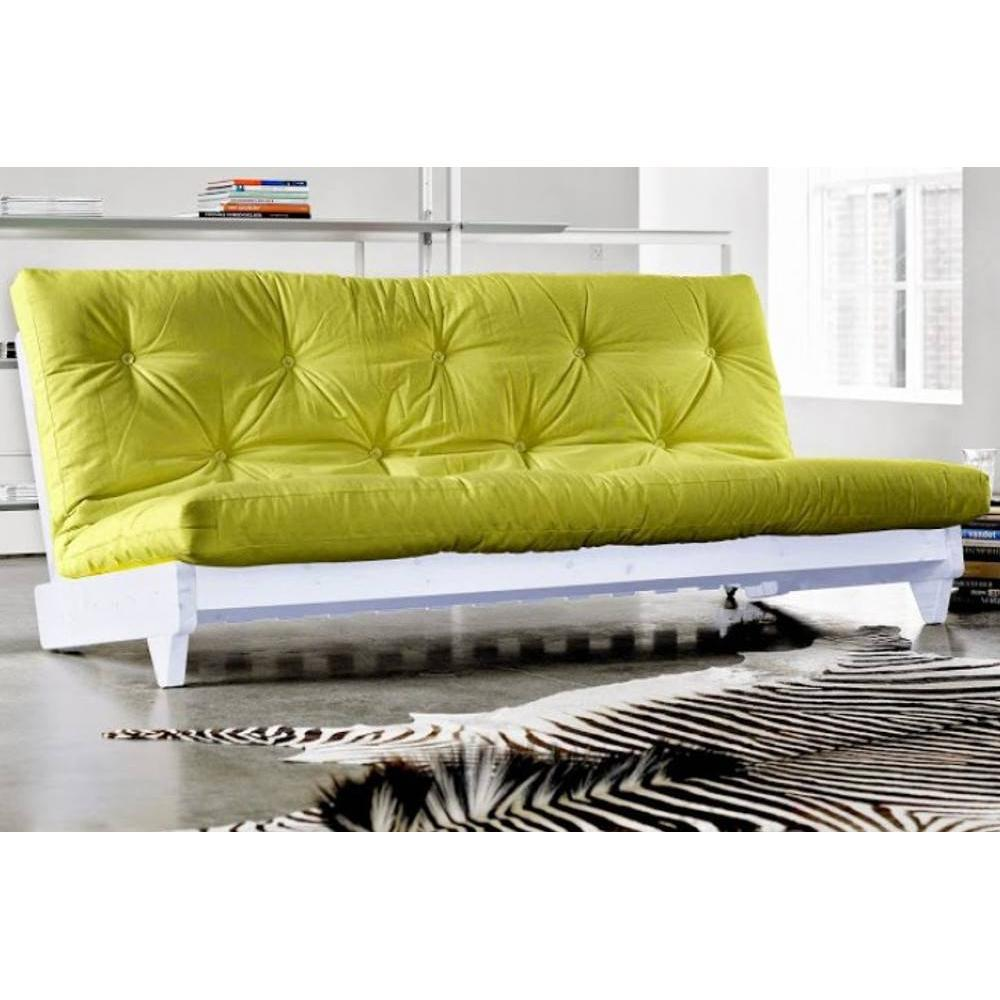 canap banquette futon convertible au meilleur prix banquette lit blanc futon vert anis fresh. Black Bedroom Furniture Sets. Home Design Ideas