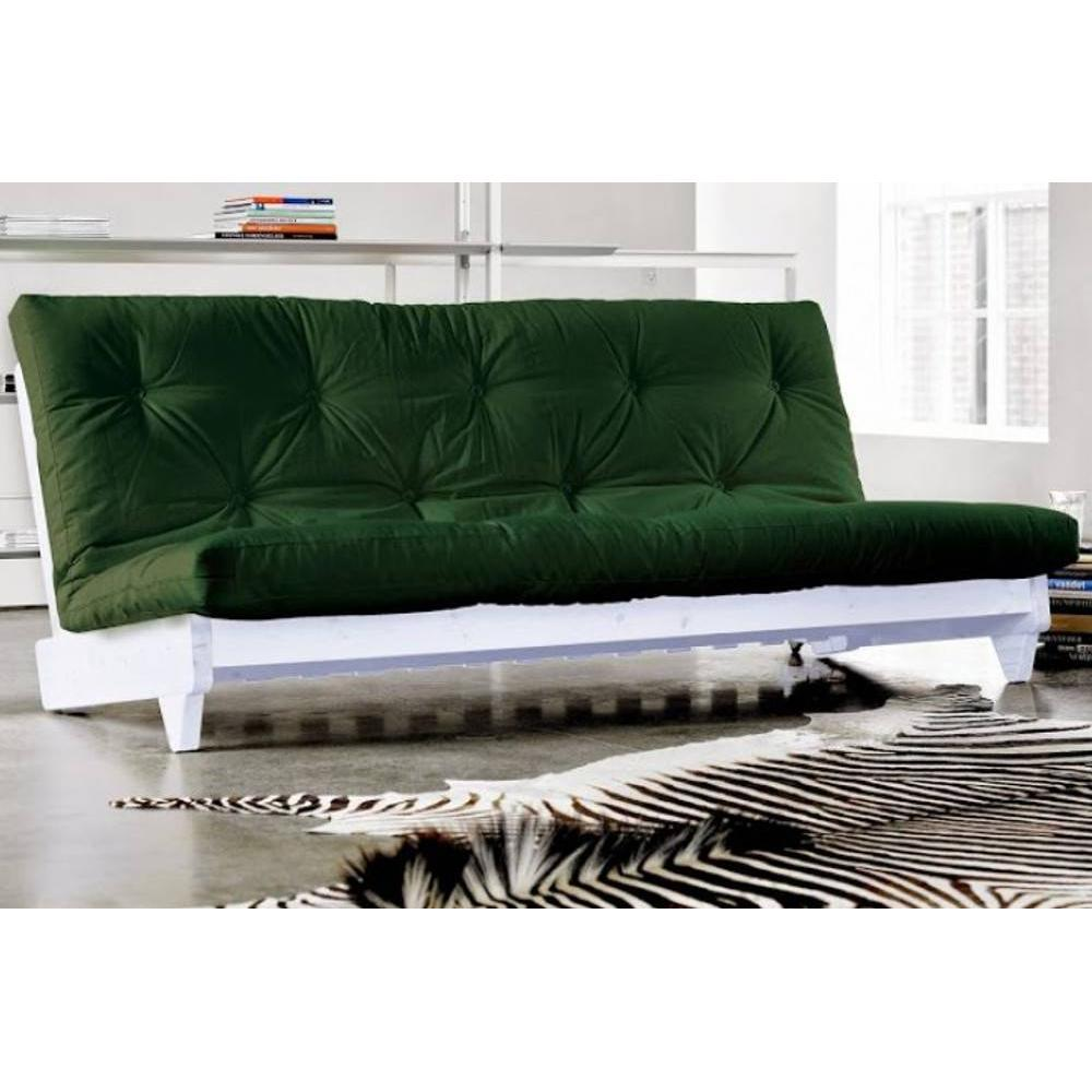 canap banquette futon convertible au meilleur prix banquette lit blanc futon vert fresh 3. Black Bedroom Furniture Sets. Home Design Ideas