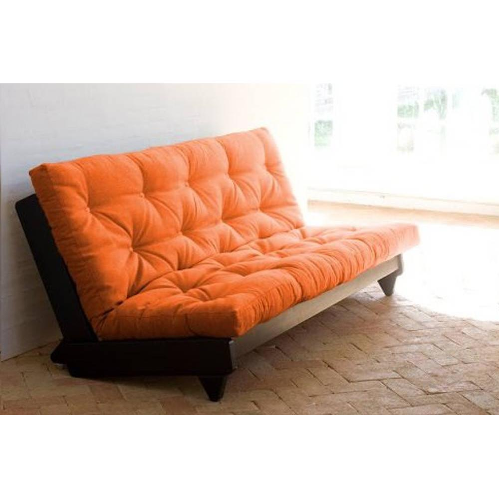 canap banquette futon convertible au meilleur prix banquette lit weng futon orange fresh 3. Black Bedroom Furniture Sets. Home Design Ideas