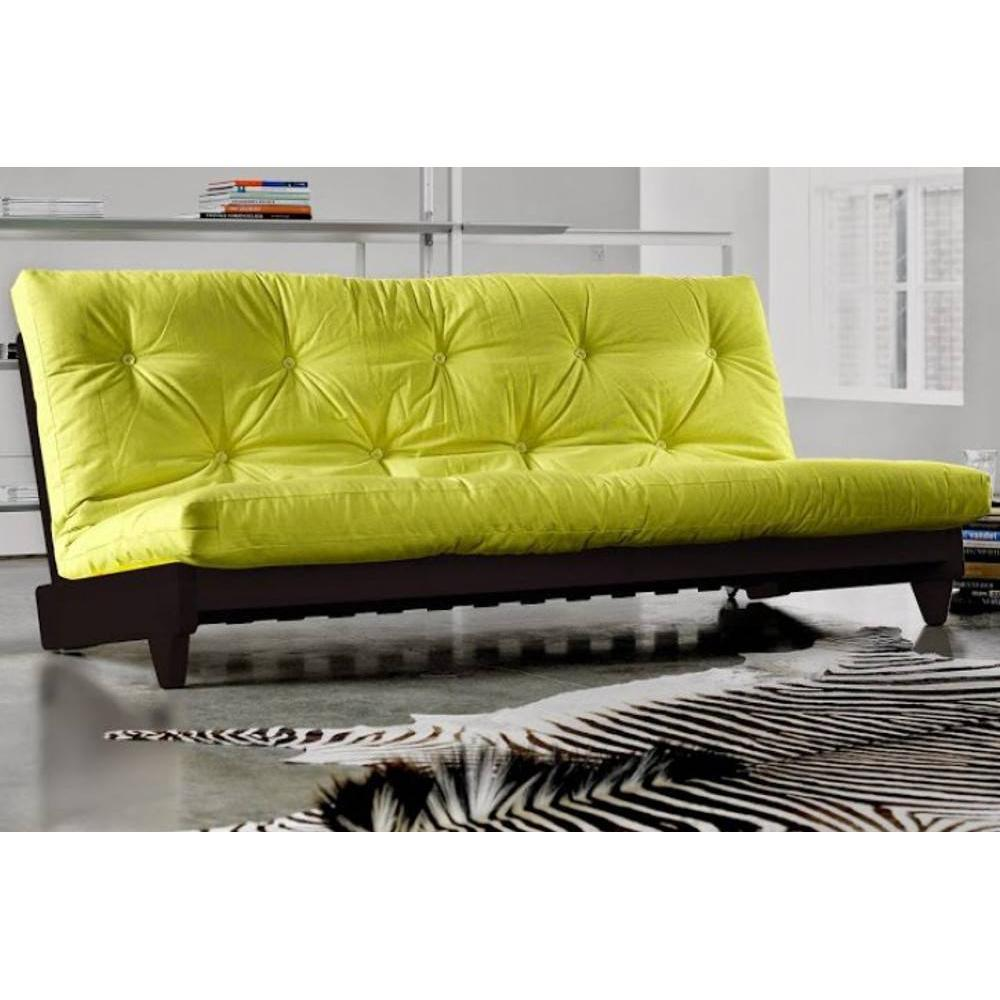canap banquette futon convertible au meilleur prix banquette lit weng futon pistache fresh. Black Bedroom Furniture Sets. Home Design Ideas