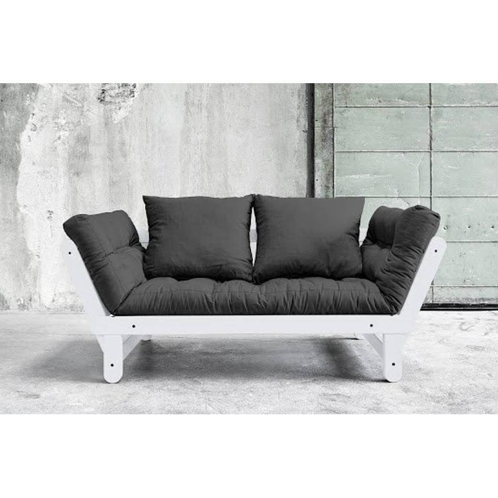 Divani letto sistema rapido armadi letto e comodini for Divano letto futon