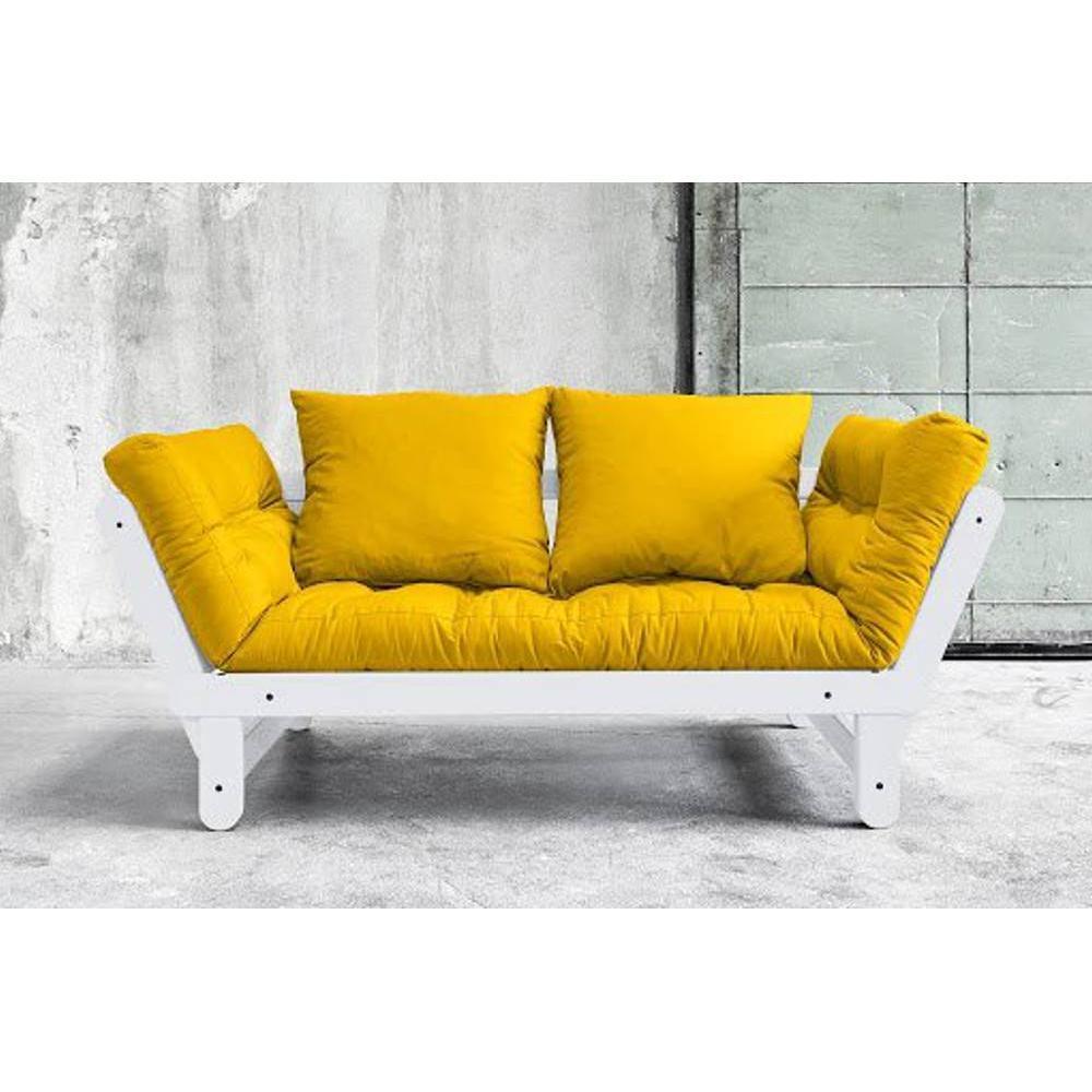 canap banquette futon convertible au meilleur prix banquette m ridienne blanche convertible. Black Bedroom Furniture Sets. Home Design Ideas