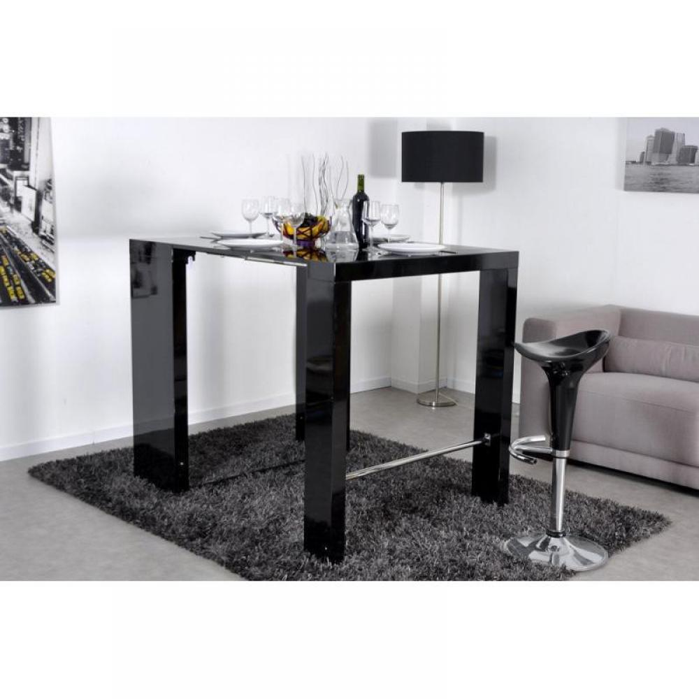 bars tables et chaises extend bar noir bar console haute et extensible inside75. Black Bedroom Furniture Sets. Home Design Ideas
