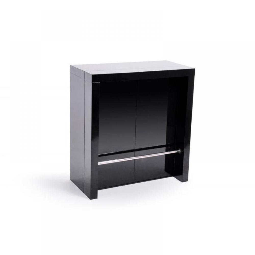 bars tables et chaises extend bar noir bar console