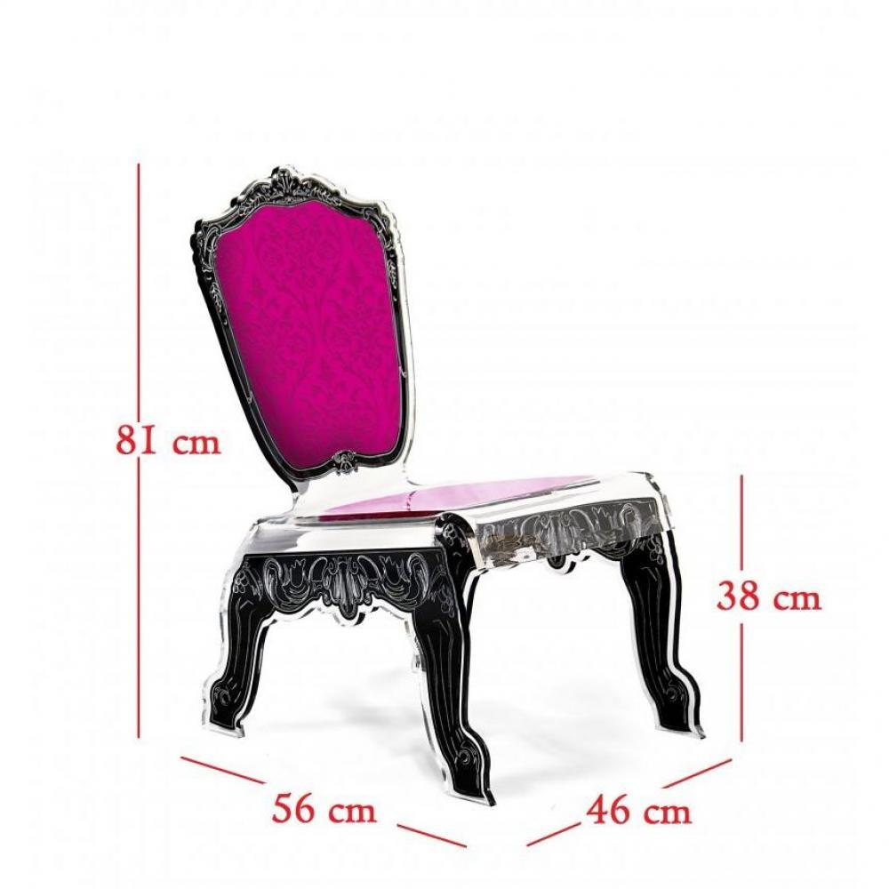 canap s convertibles ouverture rapido baroque fauteuil bas en plexi rose acrila design inside75. Black Bedroom Furniture Sets. Home Design Ideas