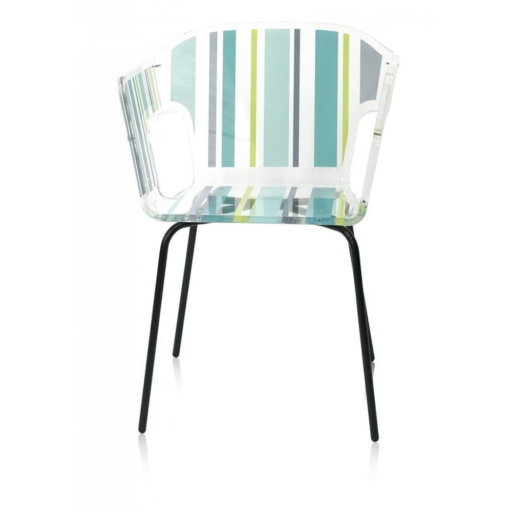 chaises meubles et rangements alnoor bayadere fauteuil. Black Bedroom Furniture Sets. Home Design Ideas