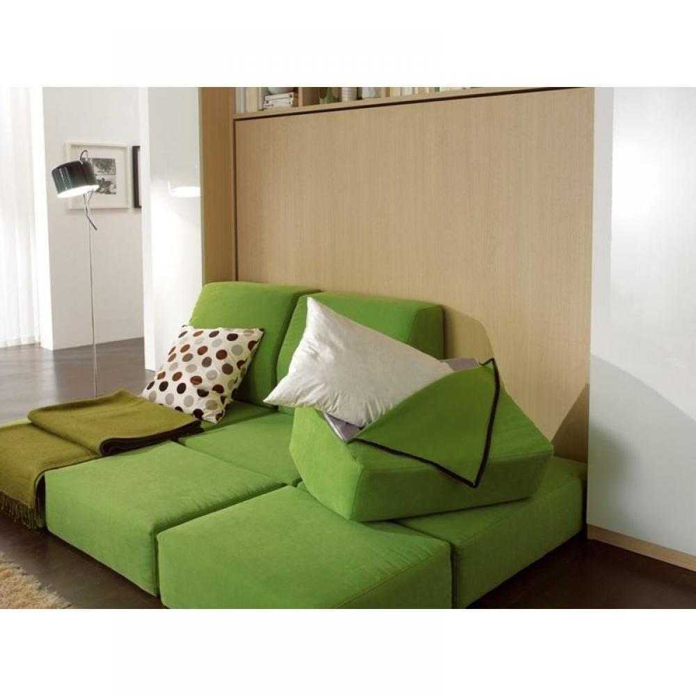 armoire lit escamotable avec canap int gr au meilleur prix armoire lit transversale 2 pers. Black Bedroom Furniture Sets. Home Design Ideas