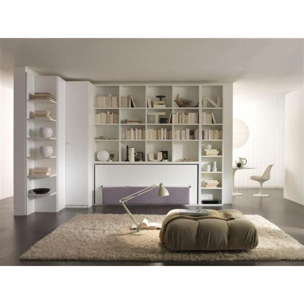 armoire lit simple escamotable 1 personne au meilleur prix lit escamotable 1 pers avec. Black Bedroom Furniture Sets. Home Design Ideas