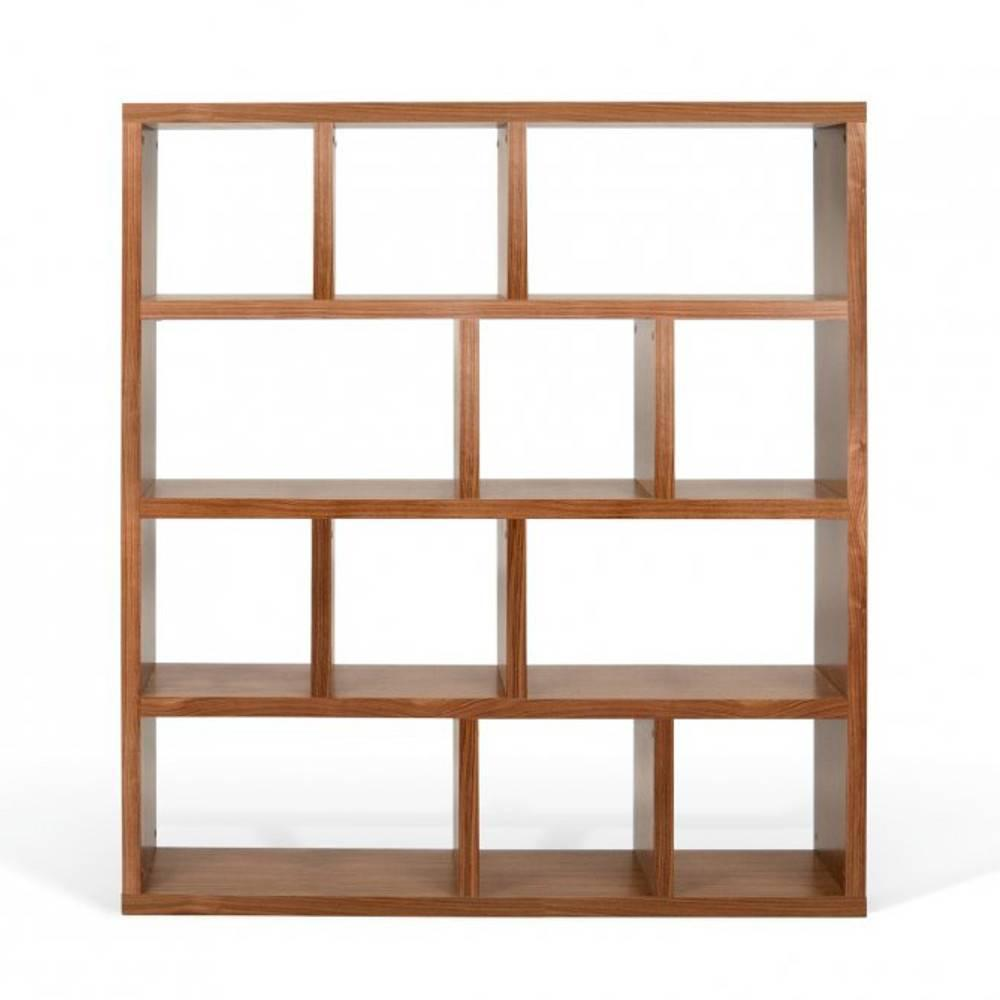 Biblioth Ques Tag Res Meubles Et Rangements Temahome Berlin Biblioth Que Tag Re Noyer Inside75