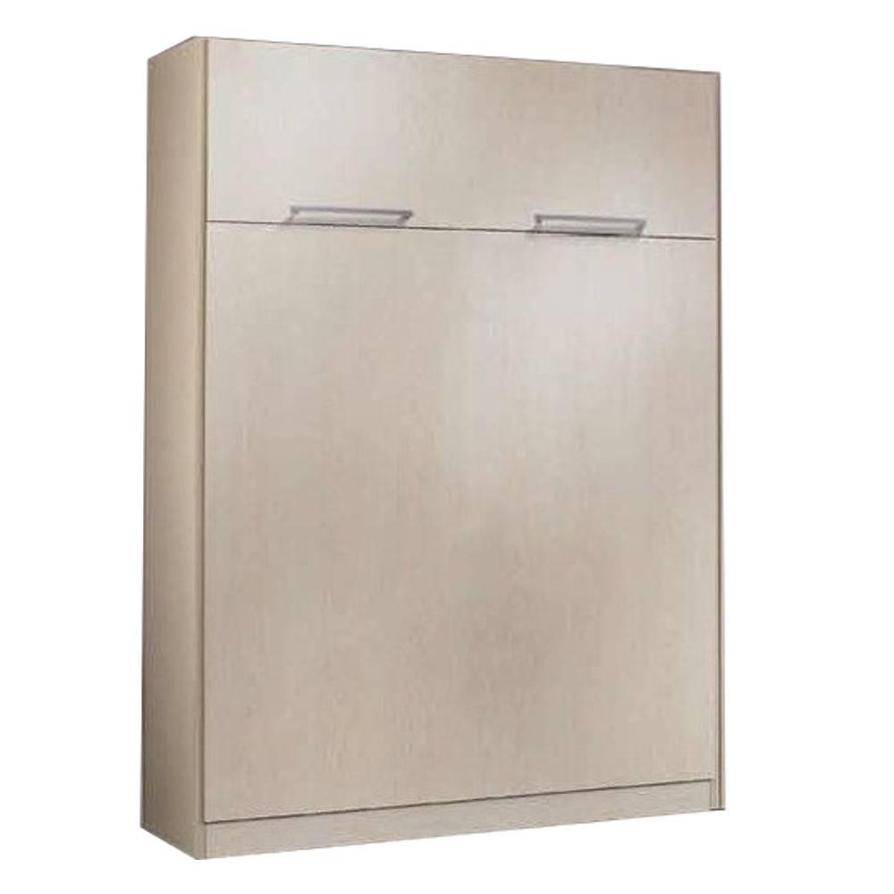 armoire lit escamotable verticale au meilleur prix armoire lit berne couchage 120 190cm. Black Bedroom Furniture Sets. Home Design Ideas