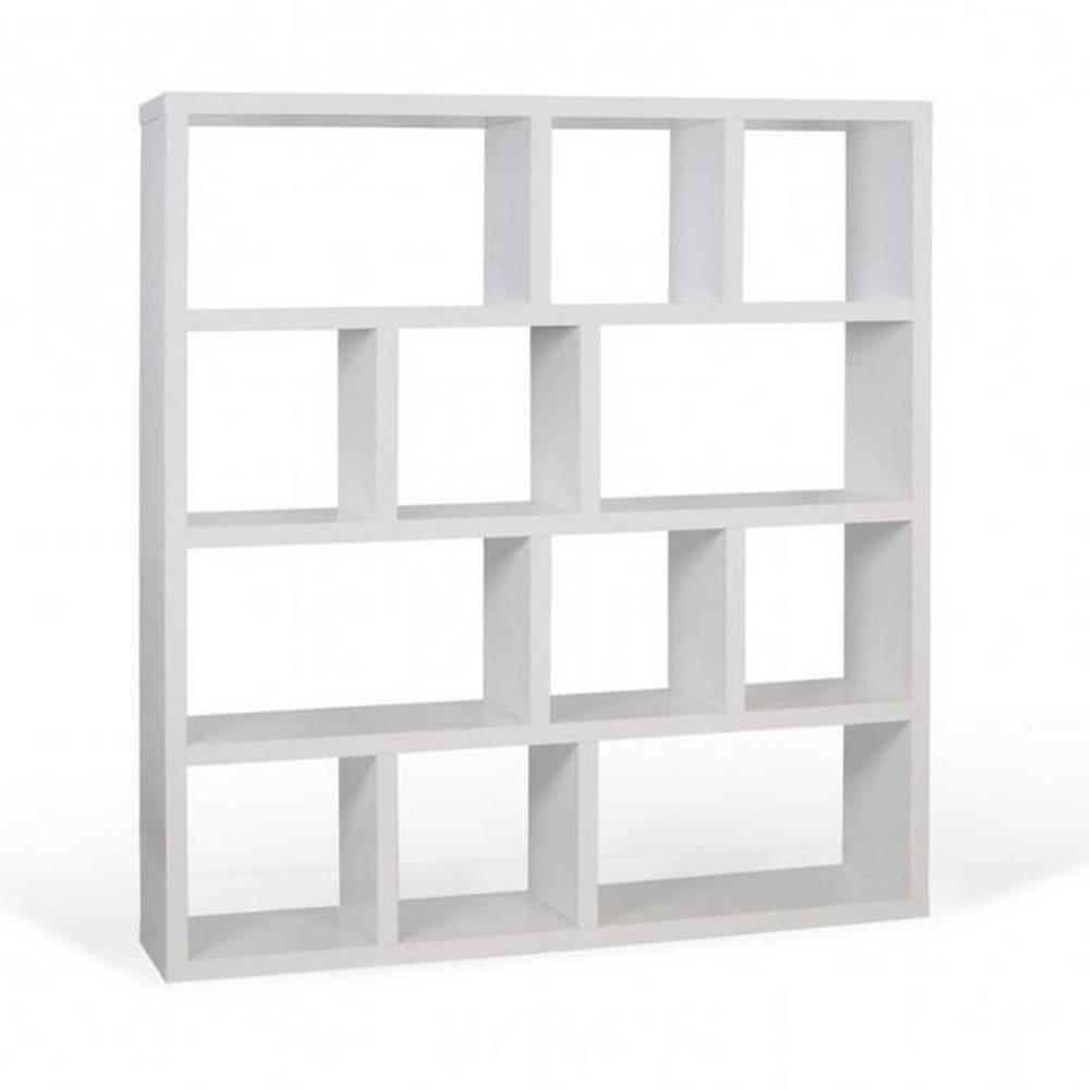Biblioth ques tag res meubles et rangements berlin biblioth que tag re blanche inside75 - Bibliotheque bebe ikea ...