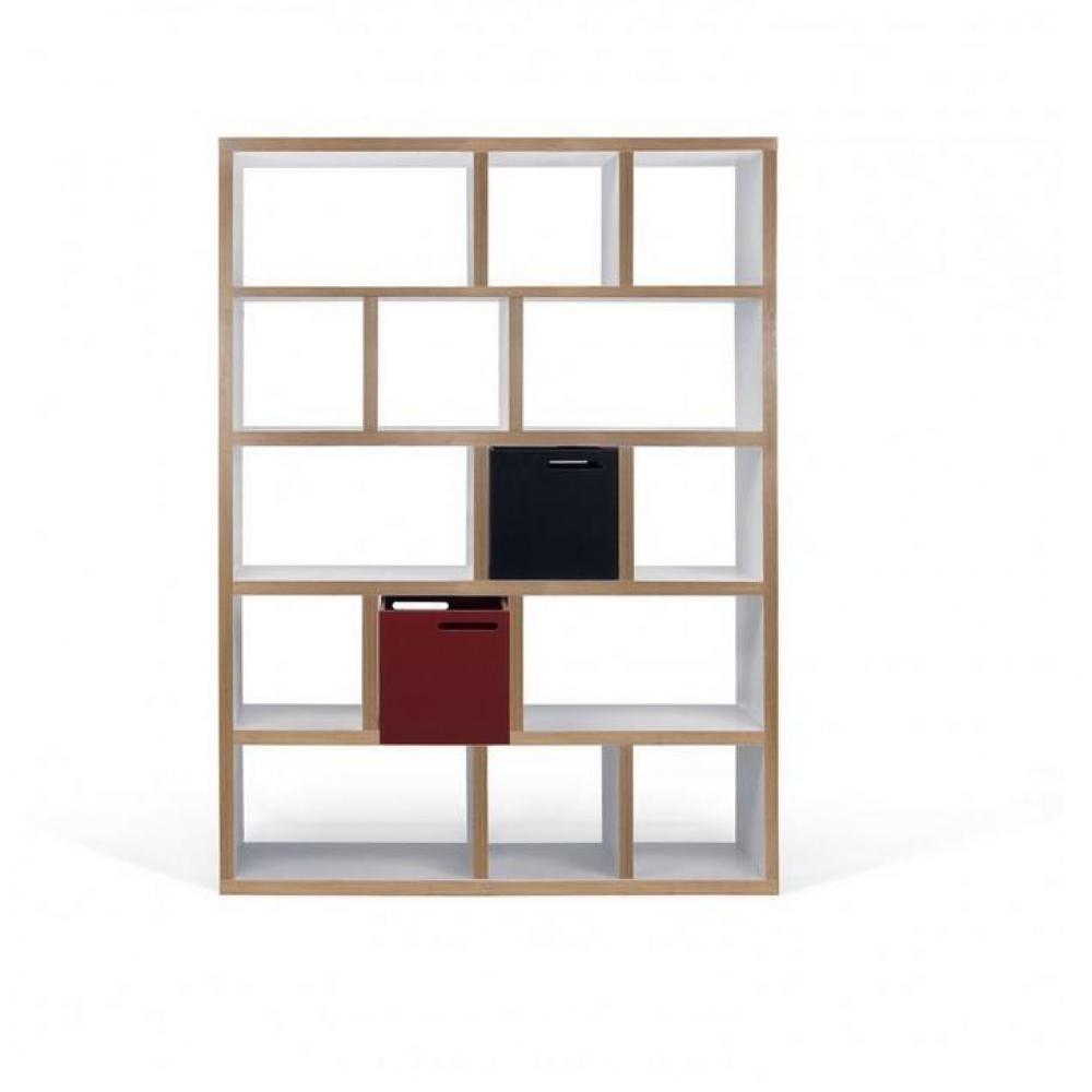 Biblioth ques tag res meubles et rangements berlin biblioth que tag re bl - Etagere bibliotheque blanche ...