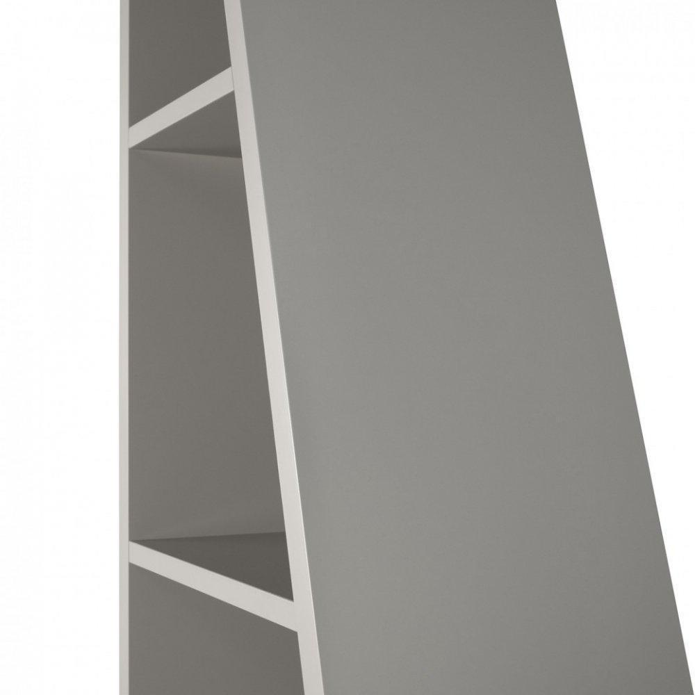 DELTA 1 bibliothèque étagère design gris mat.