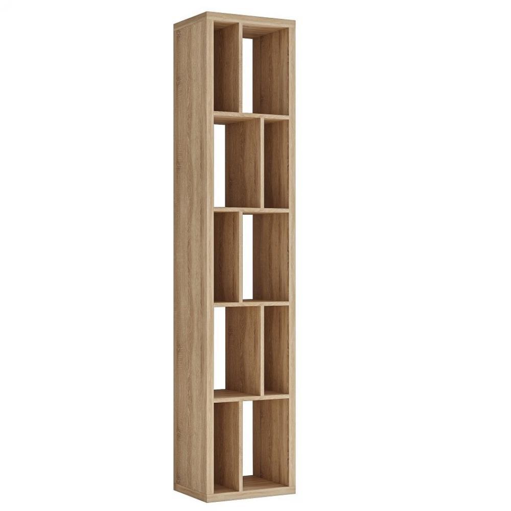 Bibliothèque design RUBY chêne naturel largeur : 45 cm