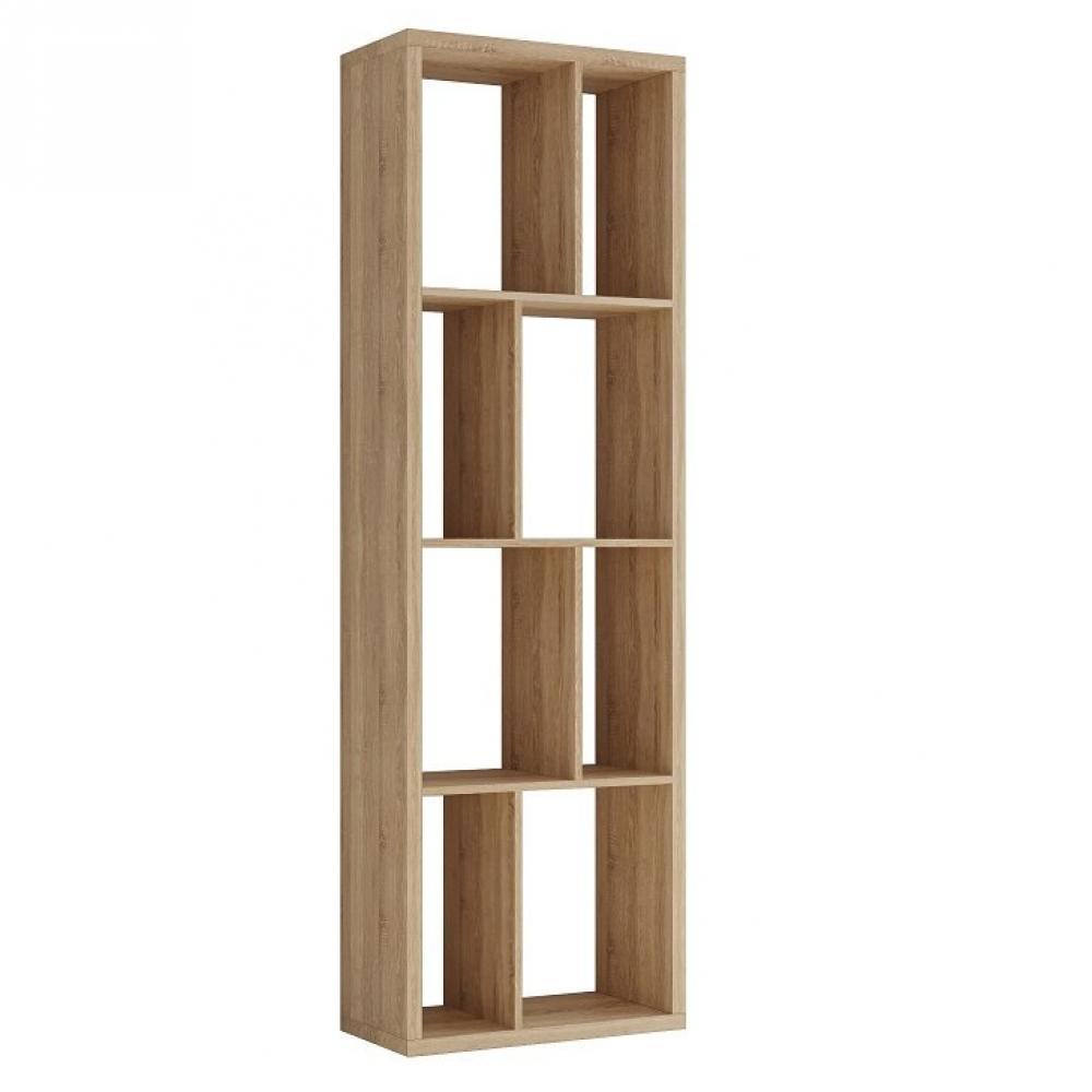 Bibliothèque design RUBY chêne naturel largeur : 70  cm