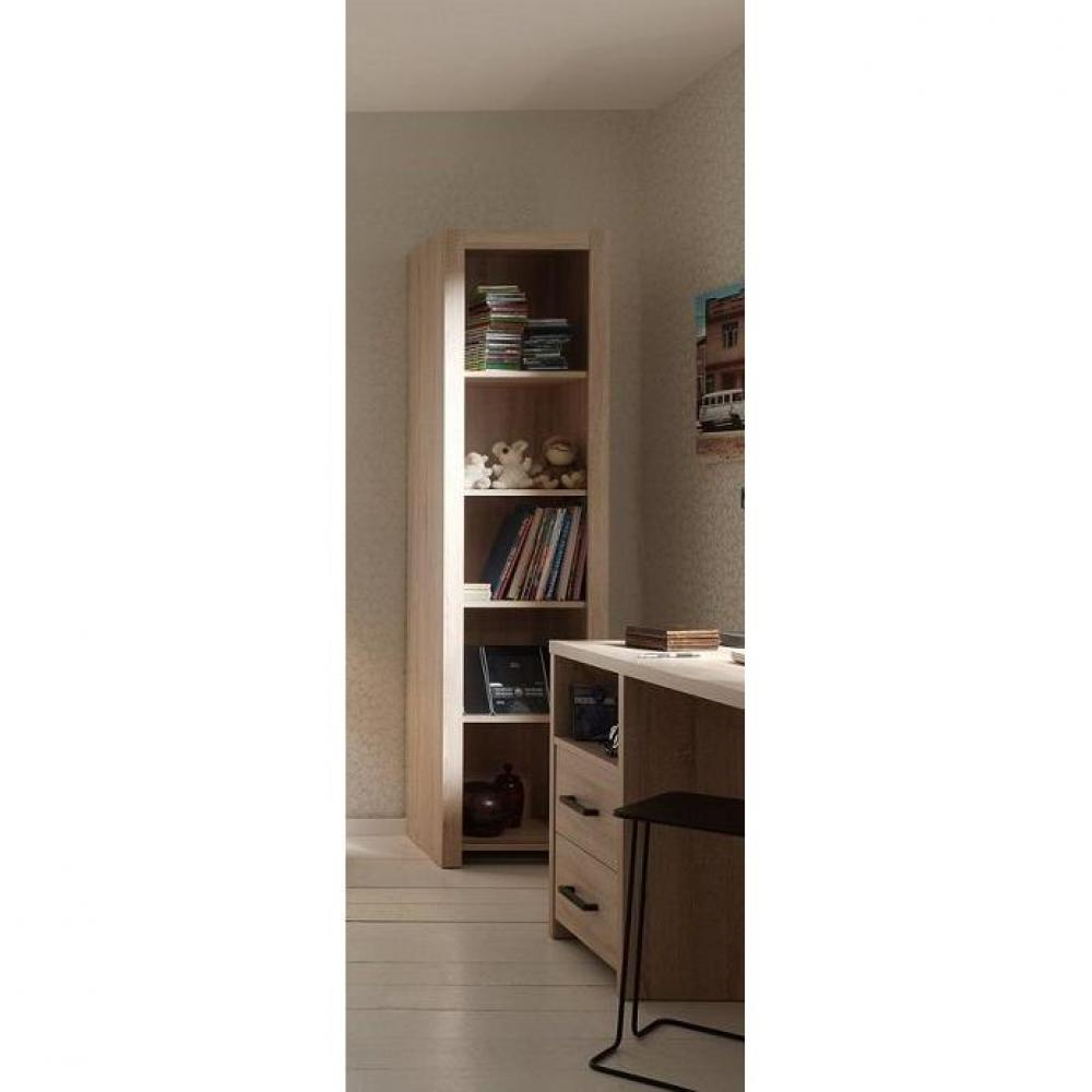 Biblioth ques tag res meubles et rangements inside75 - Bibliotheque chene clair ...