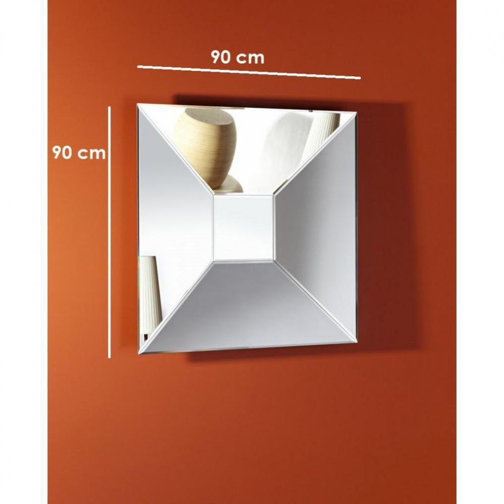 Miroirs meubles et rangements bigdance miroir mural for Verre et miroir