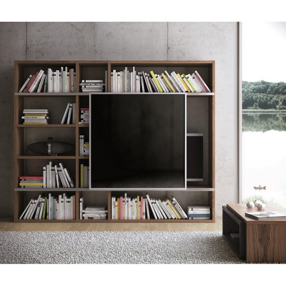 Biblioth Ques Tag Res Meubles Et Rangements Temahome Pombal  # Meuble Tv Bibliotheque Design
