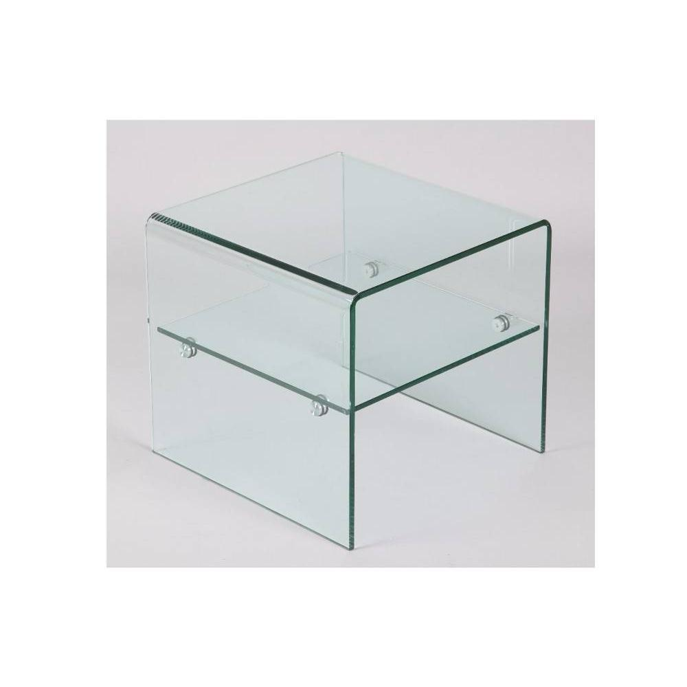 bouts de canapes meubles et rangements bout de canap hestia en verre inside75. Black Bedroom Furniture Sets. Home Design Ideas