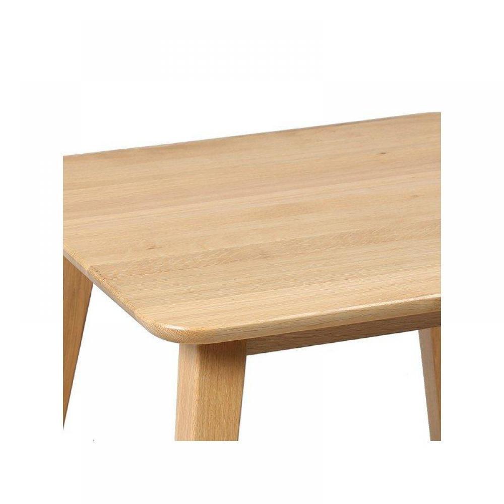 Bouts de canapes tables et chaises bout de canap olga en ch ne massif inside75 - Bout de canape chene ...