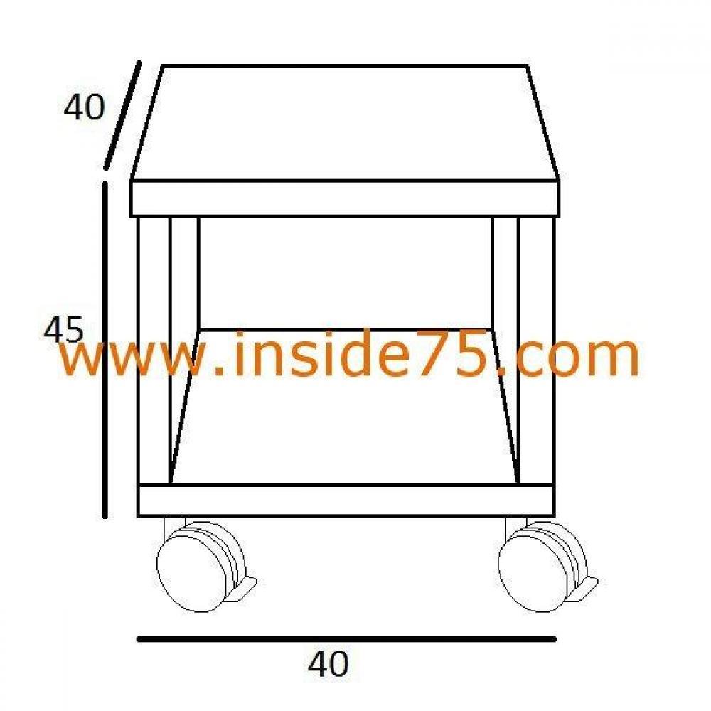 Chevets meubles et rangements bout de canap design - Bout de canape blanc laque ...