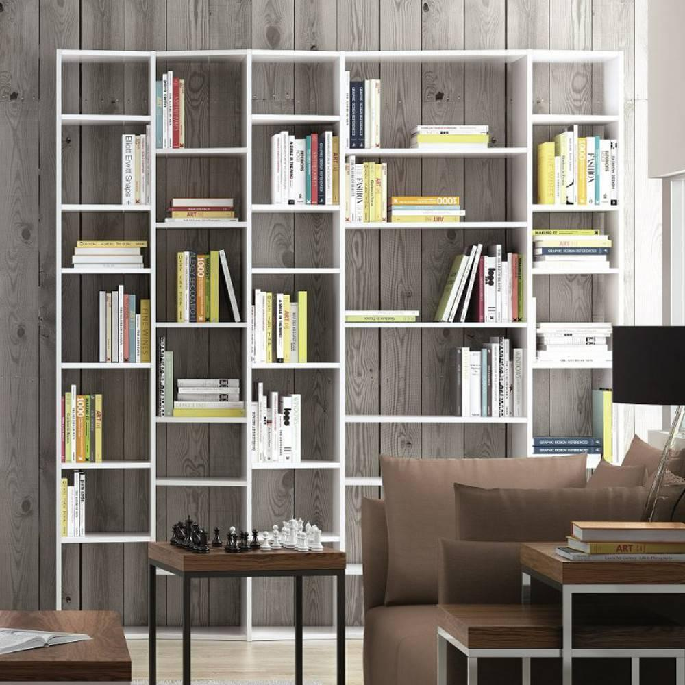 biblioth ques tag res meubles et rangements valsa 5 biblioth que tag re design inside75. Black Bedroom Furniture Sets. Home Design Ideas