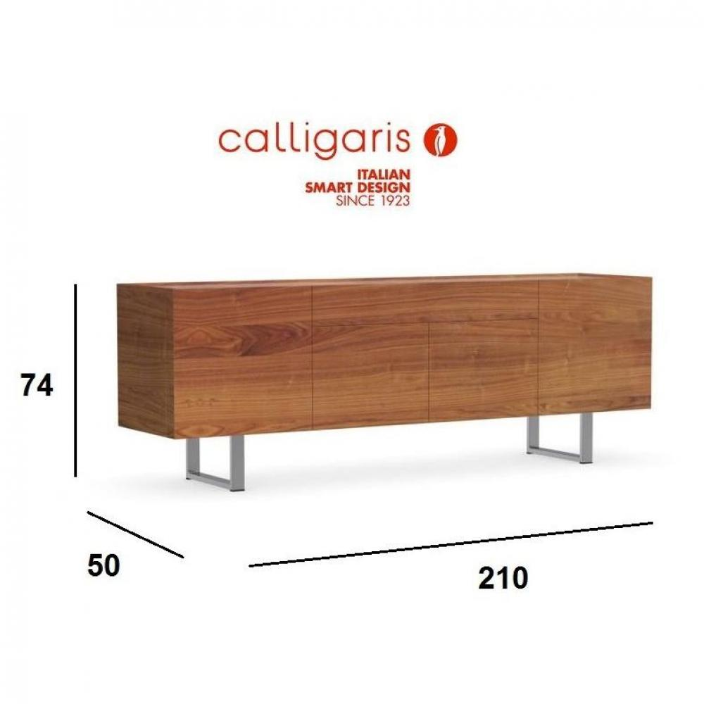 Buffets meubles et rangements calligaris buffet bas for Buffet bas design