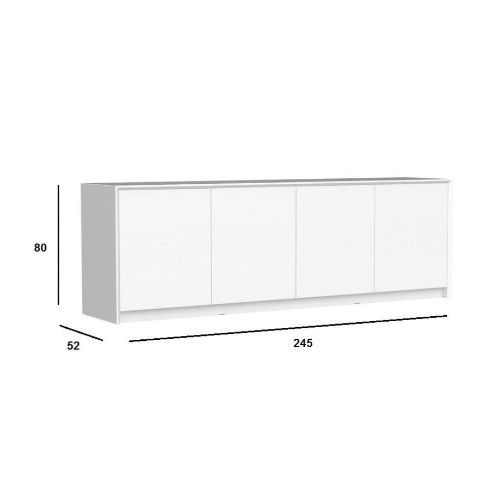 modeles buffet bas blanc design artzein. Black Bedroom Furniture Sets. Home Design Ideas