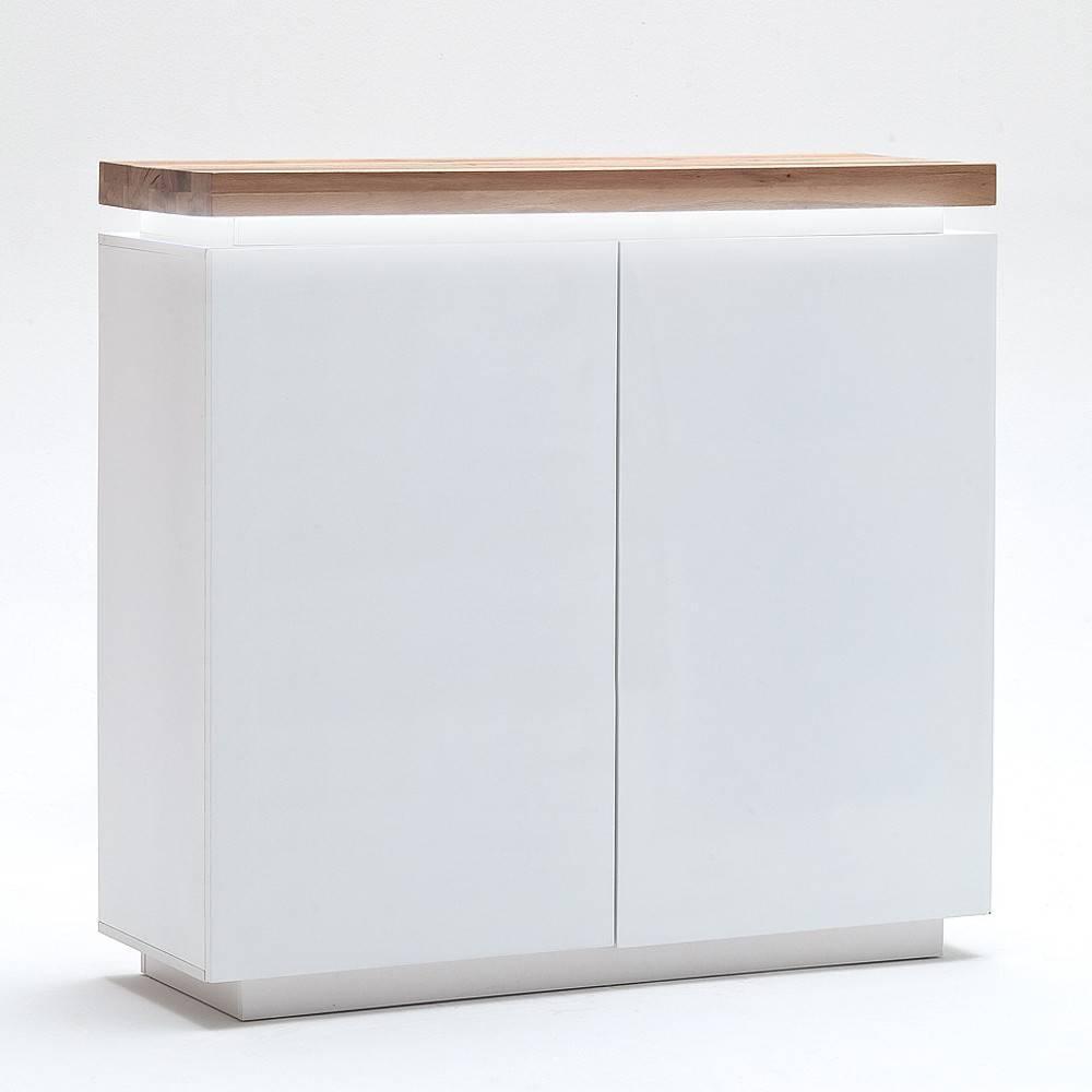 Buffets, meubles et rangements, Buffet haut ROMINA 2 portes laqué ...