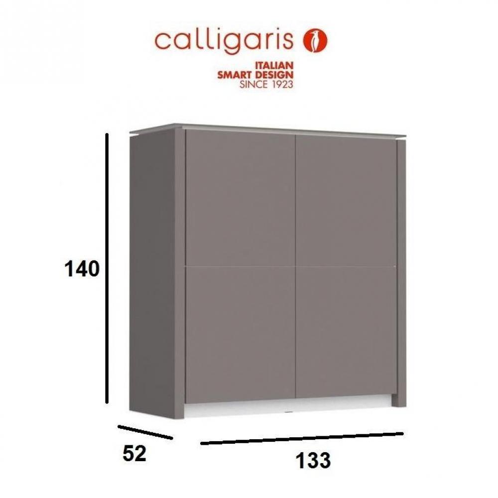 Buffets meubles et rangements calligaris buffet haut mag for Meuble calligaris