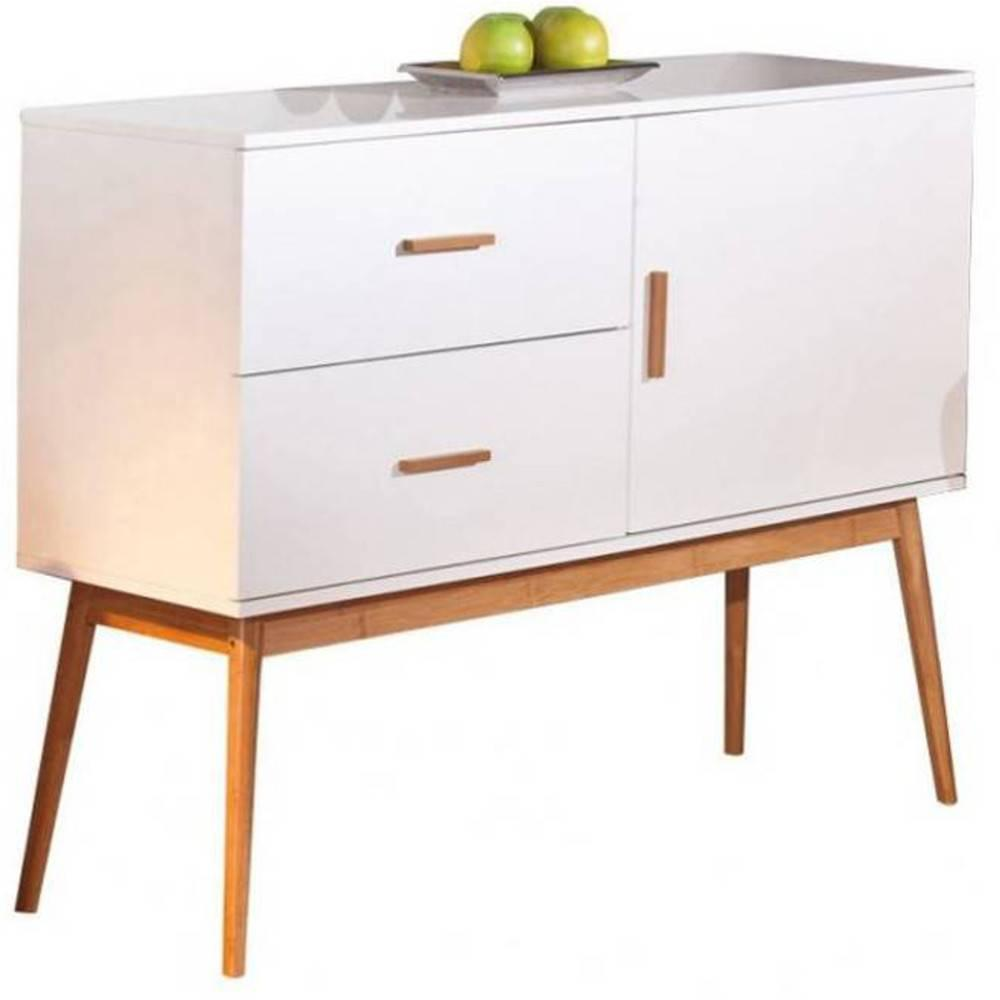 buffets meubles et rangements buffet melanie en bambou 1 porte et 2 tiroirs inside75. Black Bedroom Furniture Sets. Home Design Ideas