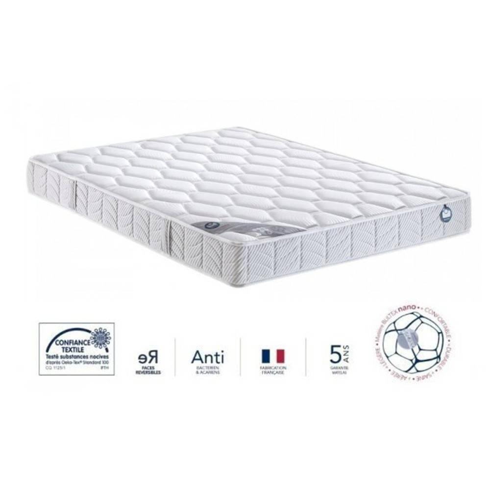 matelas chambre literie bultex matelas 120 200 cm i novo 120 paisseur 21 cm inside75. Black Bedroom Furniture Sets. Home Design Ideas