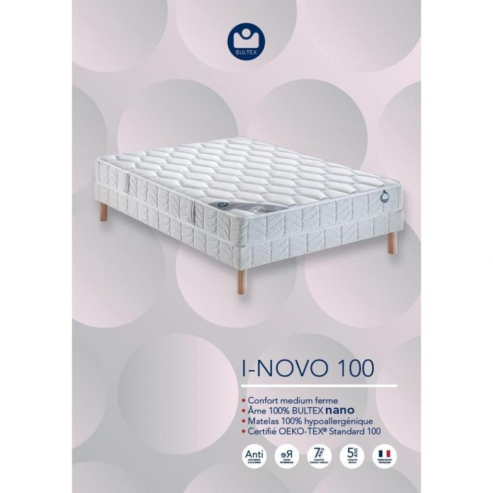 matelas chambre literie bultex matelas 140 200 cm i novo 120 paisseur 21 cm inside75. Black Bedroom Furniture Sets. Home Design Ideas